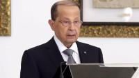 Mişel Aun: Önceliğimiz Lübnan'ı bölgesel çatışmalardan uzak tutmaktır