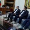 Hamas Siyasi Birimi üyesi İzzet Er-Reşak başkanlığında bir heyet, Lübnan Cumhurbaşkanı Mişel Avn ile Görüştü