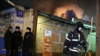Moskova'da Müslümanların çalıştığı bir atölyede yangın: 12 ölü