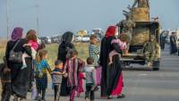IŞİD teröristleri Musul'dan kaçan sivillere saldırıyor
