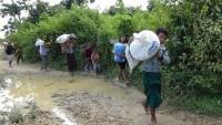 Myanmar hükümetinden ülkenin doğusundaki bir köye saldırı