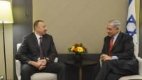 Siyonist İsrail Başbakanı Netanyahu Azerbaycan'da