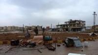 Suriye ordusu Al Alkamiye beldesini teröristlerden temizleyerek kontrol altına aldı