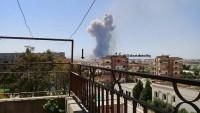 Suriye'nin Hama kentindeki askeri hava üssünde patlama meydana geldi