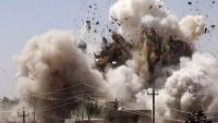 Libya'da kimliği belirsiz bir savaş uçağı tarafından yapılan hava saldırısında en az dört sivil öldü