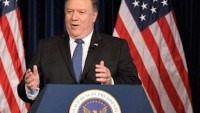 Pompeo: ABD'nin siyaseti İran'a yönelik baskıları en üst düzeye çıkarmaktır.