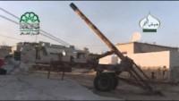 Teröristler Suriye'nin Foa ve Keferya kasabalarına yoğun saldırılar düzenledi