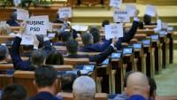 Romanya'da Hükümet Düşürüldü