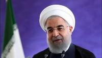 Hasan Ruhani: ABD'nin bölgede teröristleri koruma komplosu bozuldu