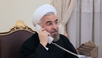 Hasan Ruhani Katar Emiri ile görüştü: Bölge meseleleri siyasi müzakere ile çözümlenmeli