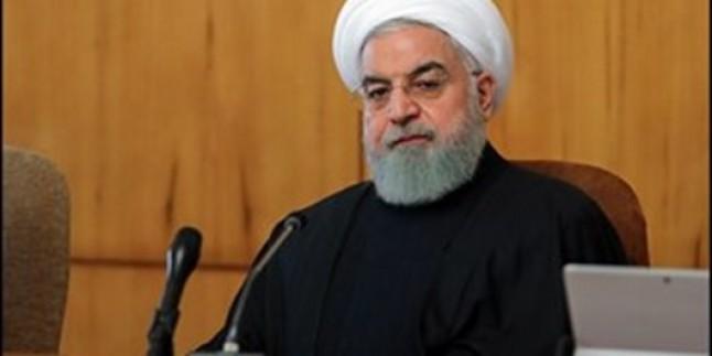 Hasan Ruhani: Enerji zengini İran, piyasadan silinemez