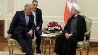 Ruhani, Fransa Senato Başkanı ile bir araya geldi