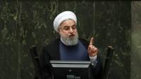 Hasan Ruhani: ABD'nin komplolarına karşı İran'ın zaferine tanık olduk