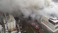 Rusya'da AVM'de Çıkan Yangında Ölenlerin Sayısı 53'e Ulaştı, 69 Kişi Halen Kayıp