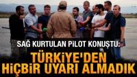 Sağ kurtulan Rus pilot konuştu: Türkiye'den hiçbir uyarı almadık