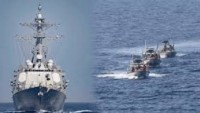 İran Savaş Gemisi ''ABD Uçak Gemisine'' Rota Değiştirtdi