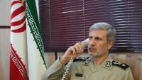 İran ve Pakistan savunma bakanları, telefon ile görüştüler