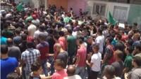 Hamas üyesi şehid İzzeddin Velid Beni Ğurra, Cenin Kampı'nda toprağa verildi