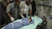 Bebek katili Siyonist İsrail bir bebeği daha hamile annesiyle birlikte şehid etti