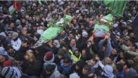 Şehit Cehaciha ve Şehit Hamdan Kalendiya Kampı'nda Toprağa Verildi