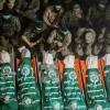 Gazze Halkı 7 Kassam Mücahidini Son Yolculuğuna Uğurladı