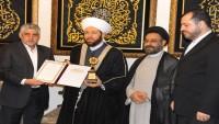 İslami İnsan Hakları Komitesi, bu yılki ödülünü Suriye müftüsü Şeyh Hassun'a verdi