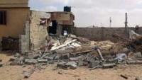 Mısır'ın Sina sahrasında meydana gelen patlamada iki kişi öldü
