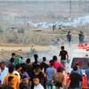 Siyonist İsrail Güçleri Gazze Sınırında Göstericilere Ateş Açtı: 42 Yaralı
