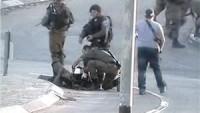Filistinli Eylemcinin Çarptığı Üç Siyonist İşgal Askeri Yaralandı