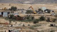 Siyonist İsrail'den Filistinlilere küstah bildiri, bir de 48 saat mühlet verdiler