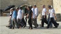 Siyonistler Bu Sabah Mescid-i Aksa'ya Baskın Düzenledi