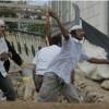 Siyonitler Filistinlilere taş ve sopalarla saldırdı