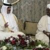 Katar Emiri İle Sudan Devlet Başkanı Görüştü