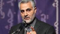 General Kasım Süleymani: İran Filistin'e Desteğini Asla Kesmez