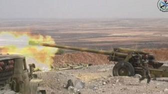 Suriye Ordusu, Rakka Vilayetine Bağlı Tabka Kentinin Güneybatısında Konuşlanan PYD Teröristlerin İşgalindeki Birkaç Bölgeyi Kurtardı