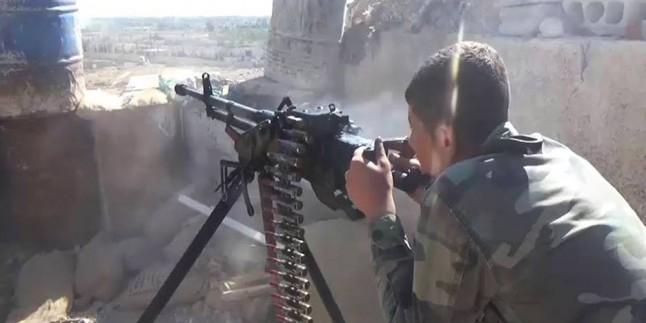 Suriye ordusundan Hama'daki teröristlere yönelik kapsamlı operasyon başlatıldı