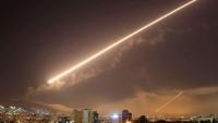 Suriye Hava Savunma Sistemleri Şam Havaalanı İle Bir Kaç Askeri Hedefe İsrail Tarafından Atılan Füzeleri Havada İmha Etti