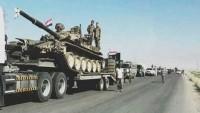 Suriye ordusu Münbiç'in çevresine konuşlandı