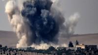 ABD ittifakı Suriye'de yasak bomba kullandı