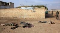 Suriye'nin güneyinde teröristlerden bir grup öldürüldü