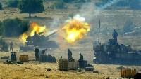 Suriye Ordusundan Teröristlere Ağır Hava Saldırısı