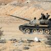 Tlul el Safa'nın derinlikleri Suriye ordusunun ateş kontrolünde