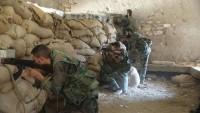 Suriye'de teröristlere ağır darbeler vuruldu