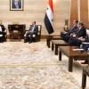 Suriye'den İran'a yeniden inşa sürecine katılım çağrısı