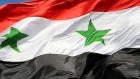 Suriye ordusu Doğu Guta'nın Ein Tarma kenti merkezinde 7 yıl sonra Suriye bayrağını dalgalandırdı