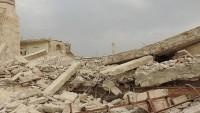 ABD Deyrizor'da camiyi bombaladı