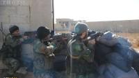 Foto: Suriye ordusu en önemli ikmal yolunu kesti