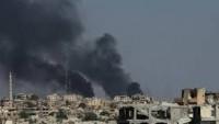 Büyük Şeytan Amerika Mazlum Suriye Halkını Vurmaya Devam Ediyor
