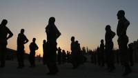 Suriye'de memurlara askeri eğitim verildi