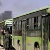 1000'i aşkın terörist Doğu Guta'ya bağlı Duma bölgesinden çıkarıldı